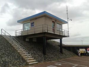 Nieuwbouw havenmeesterkantoor Te Den Oever